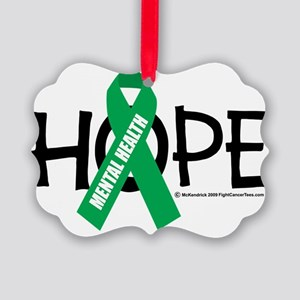 Mental-Health-Hope Picture Ornament