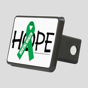 Mental-Health-Hope Rectangular Hitch Cover