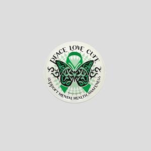 Mental-Health-Butterfly-Tribal-2 Mini Button