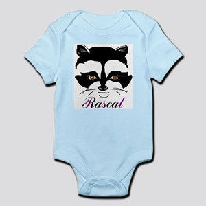 Racoon Infant Creeper Body Suit
