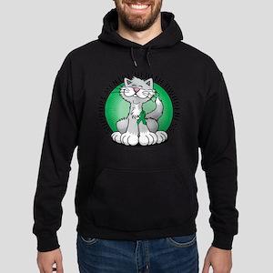 Paws-for-Mental-Health-Cat Hoodie (dark)
