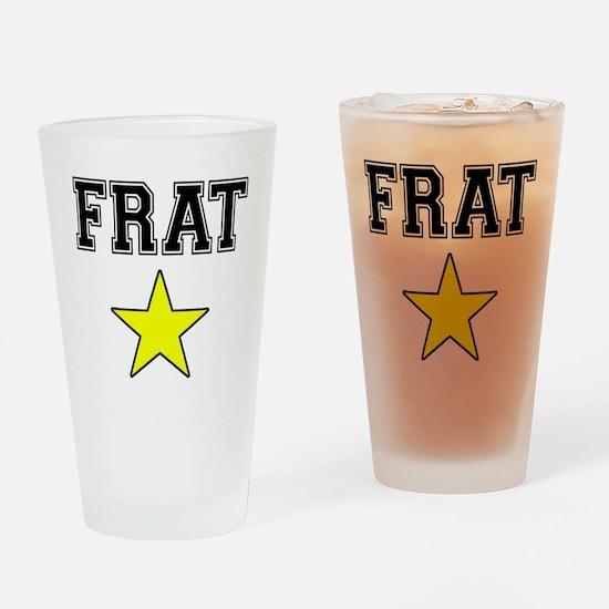 Frat Star Drinking Glass