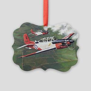 t-34_cafepress Picture Ornament