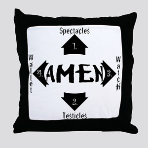 Spectacles Throw Pillow