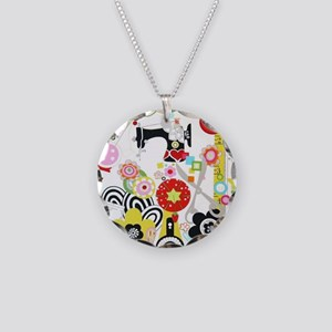 notions-4 Necklace Circle Charm