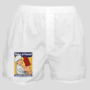 BettyBaker_BlackShirt Boxer Shorts
