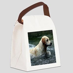 Labradoodle pillow Canvas Lunch Bag