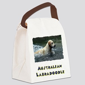 Labradoodle shirt Canvas Lunch Bag