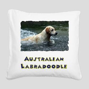 Labradoodle shirt Square Canvas Pillow