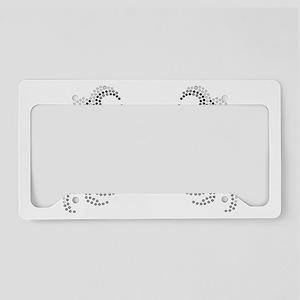 BlingCancer License Plate Holder