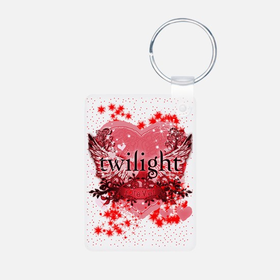 twilight red heart christm Keychains