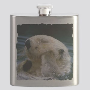 beaver shirt Flask