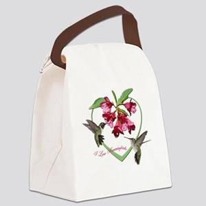 2.75X2  clear Canvas Lunch Bag