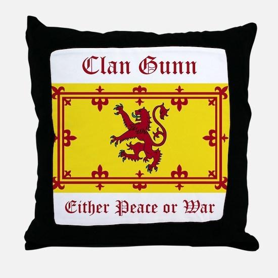 Gunn Throw Pillow