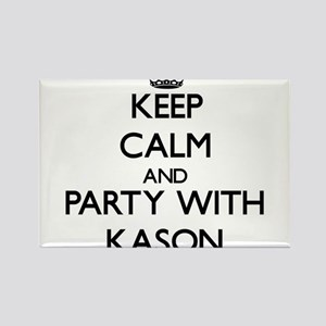 Keep Calm and Party with Kason Magnets
