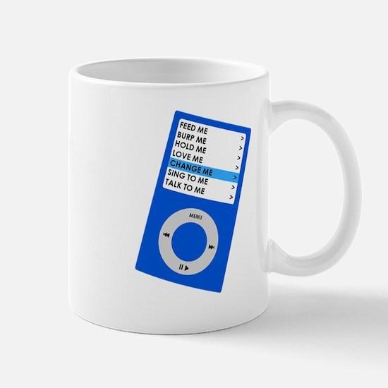 IPOOD blue dark Mug