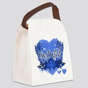 twilight forever blue copy Canvas Lunch Bag