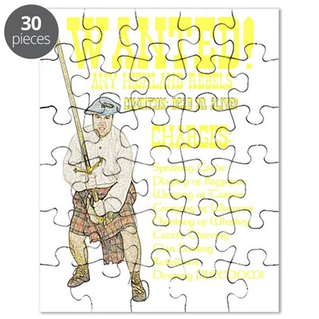 wanted-highlanders001h Puzzle by Admin_CP14329854