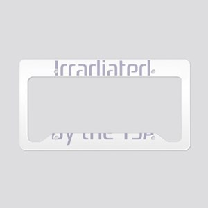 irradiatedlite License Plate Holder