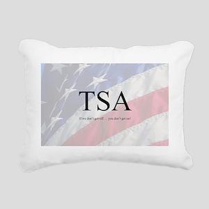 TSA6 Rectangular Canvas Pillow