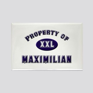 Property of maximilian Rectangle Magnet