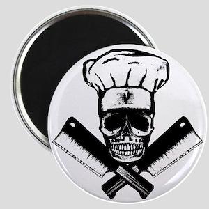 Chef_Skull_HCBW Magnet