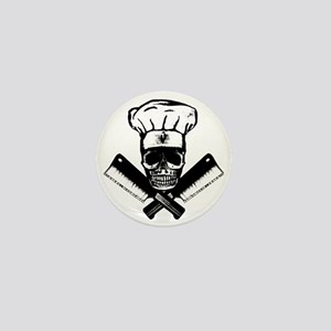 Chef_Skull_HCBW Mini Button