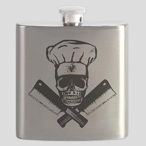 Chef_Skull_HCBW Flask