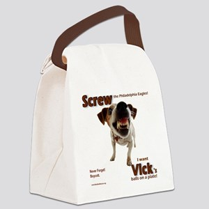 screw_vick Canvas Lunch Bag