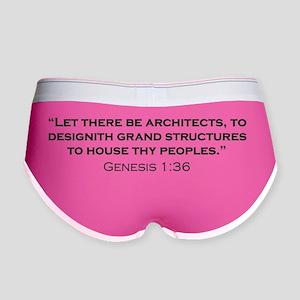 Architect_Genesis_21x14 Women's Boy Brief