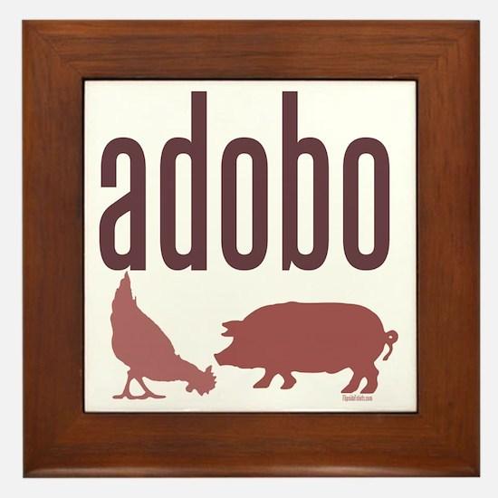 adobo3brown_CPDark Framed Tile