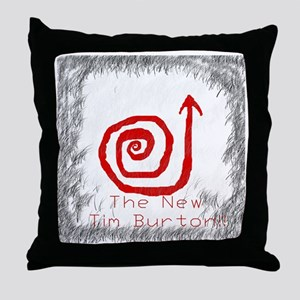 Tim Burton Themed Arrow Shirt Throw Pillow