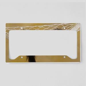 LF L print License Plate Holder