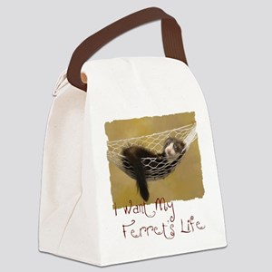 LF shirt Canvas Lunch Bag