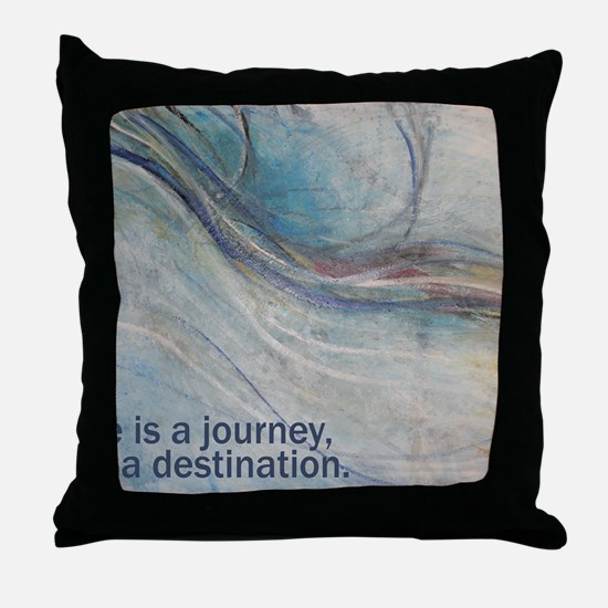 PSTR-journey3 copy Throw Pillow