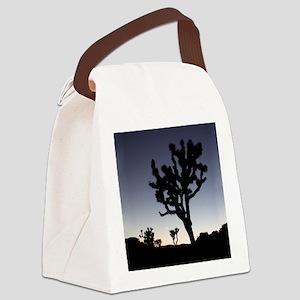 rndornaJtreeTwilight Canvas Lunch Bag
