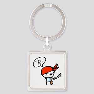 pirate_0117f Square Keychain