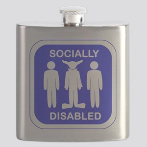 Socially Disabled Flask