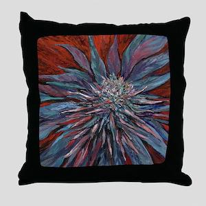 blanket purplehaze Throw Pillow