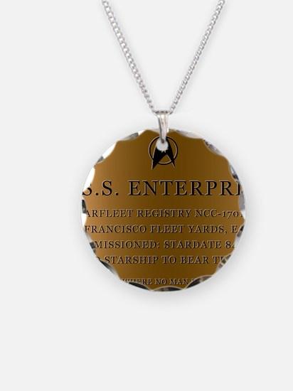 enterpriseplaque04 Necklace