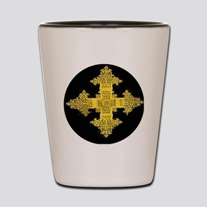 ethiopia cross performance jacket Shot Glass