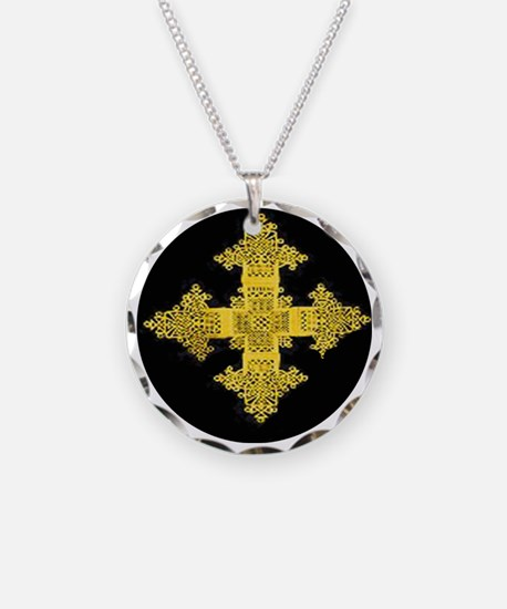 ethiopia cross performance j Necklace