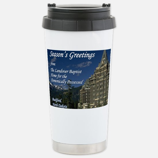 homefordpossessed Stainless Steel Travel Mug