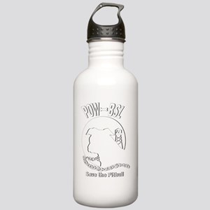 POW BSL Pitbull Dogs Stainless Water Bottle 1.0L