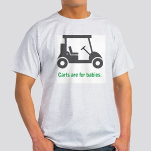 Golf_Carts_Green Light T-Shirt