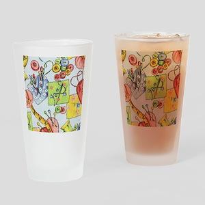 fabric_3 Drinking Glass