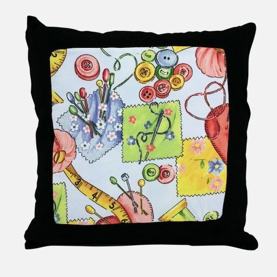 fabric_3 Throw Pillow