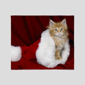 SH Kitty calendar Throw Blanket