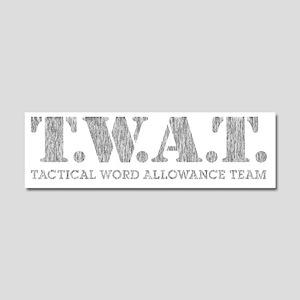 TWATSWAT Car Magnet 10 x 3