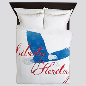 Liberty is our Heritage Queen Duvet